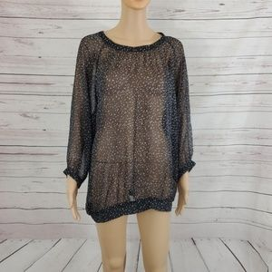 The Limited Blouse Sheer Size XL